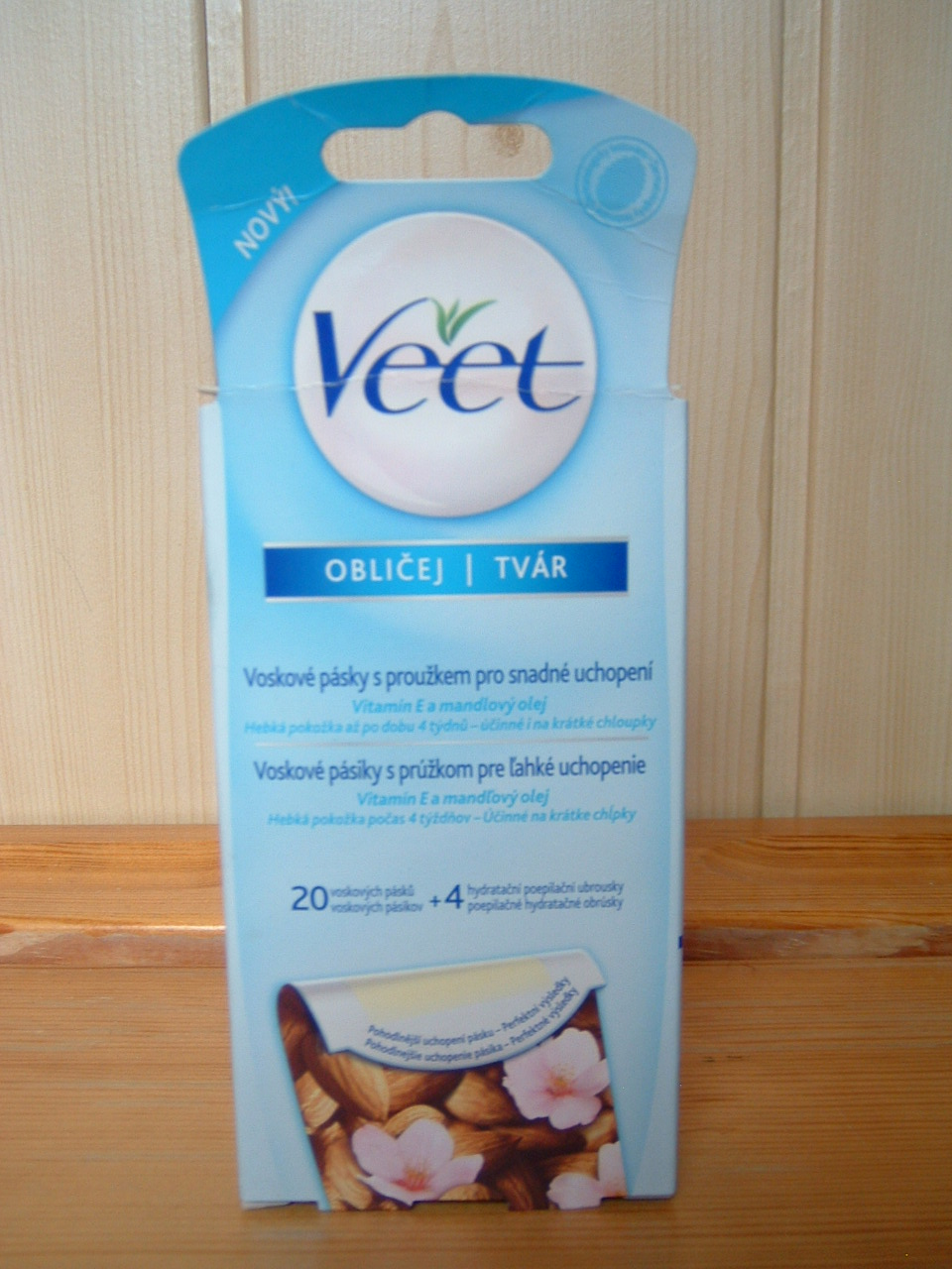 Veet Voskové pásky pro citlivou pokožku