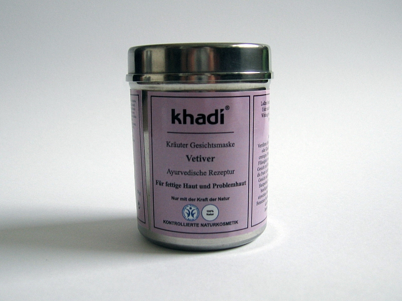 Pleťová indická maska Khadi Vetiver