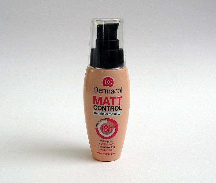 Recenze zmatňujícího make-upu Dermacol Matt Control