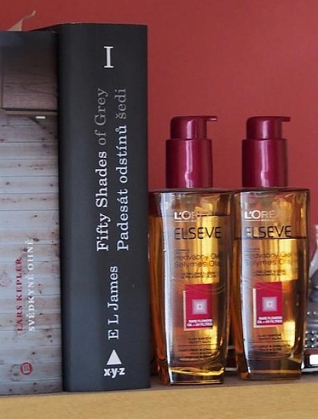 L´oreal Paris hedvábný olej na barvené vlasy II.