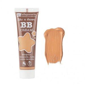 "laSaponaria BB krém ""Jako sen"" BIO - béžový (30 ml) - lehké krytí s matným finišem + Prázndá tuba patří do kontejneru na plast."