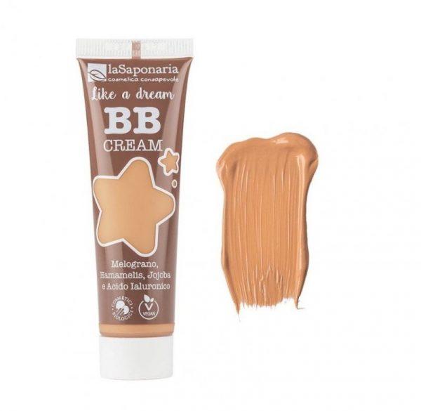"""laSaponaria BB krém """"Jako sen"""" BIO - béžový (30 ml) - lehké krytí s matným finišem + Cosmetici Biologici"""