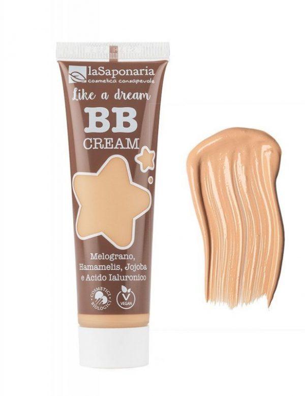 """laSaponaria BB krém """"Jako sen"""" BIO - světlý (30 ml) - lehké krytí s matným finišem + Cosmetici Biologici"""