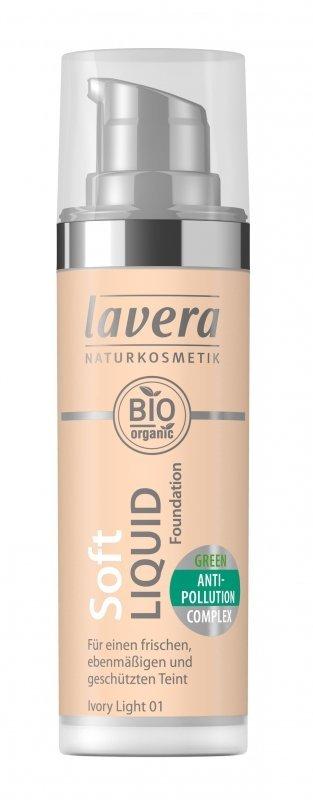 Lavera Lehký tekutý make-up (30 ml) - porcelánová + NaTrue