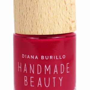 Handmade Beauty Lak na nehty 5-free (10 ml) - Strawberry + PETA - netestováno na zvířatech