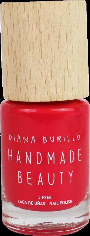 Handmade Beauty Lak na nehty 5-free (10 ml) - Tangerine + PETA - netestováno na zvířatech