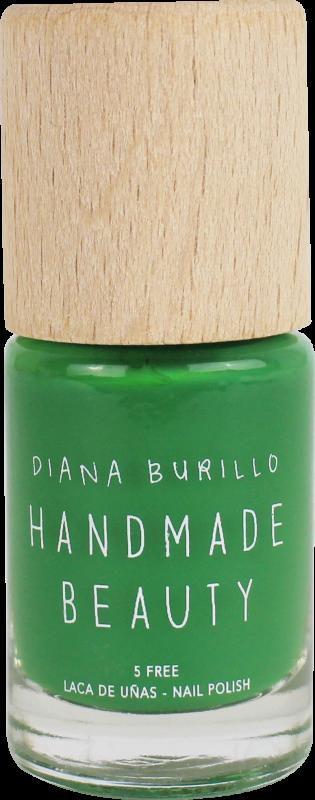 Handmade Beauty Lak na nehty 5-free (10 ml) - Avocado + PETA - netestováno na zvířatech