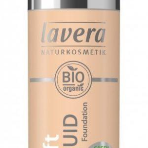Lavera Lehký tekutý make-up (30 ml) - písková + NaTrue