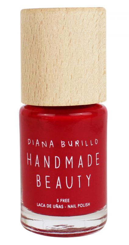 Handmade Beauty Lak na nehty 7-free (11 ml) - Cherry + PETA - netestováno na zvířatech