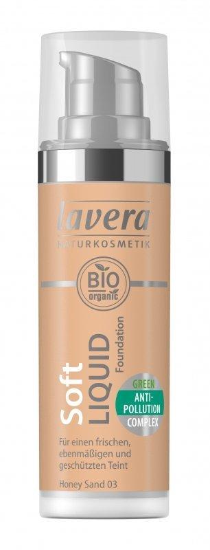 Lavera Lehký tekutý make-up (30 ml) - medová + NaTrue