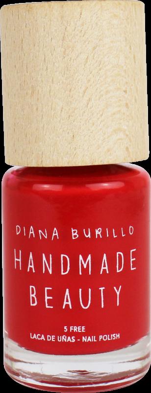 Handmade Beauty Lak na nehty 5-free (10 ml) - Apricot + PETA - netestováno na zvířatech