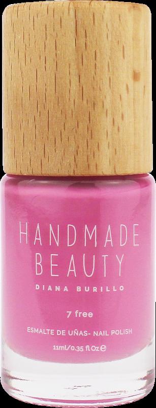 Handmade Beauty Lak na nehty 7-free (11 ml) - Cranberry + PETA - netestováno na zvířatech
